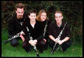 Chinook clarinet quartet